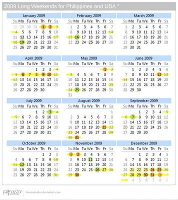 Long_Weekends_Calendar_2009