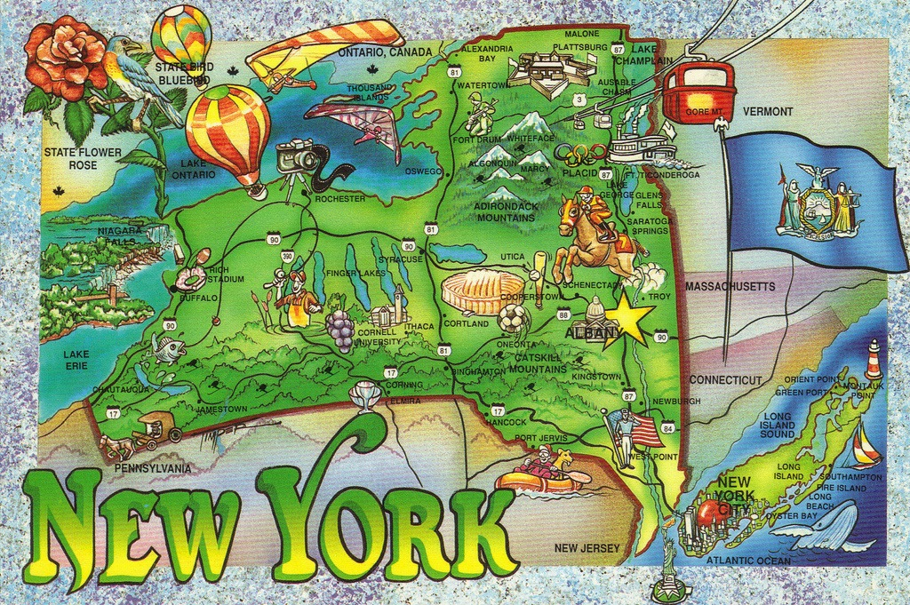 Infographics Depot Of Information Graphics Addicted To - Ny state map