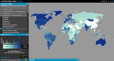World Freedom Atlas